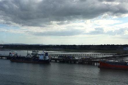 连续地远程腐蚀监测促使码头经营符合环保要求