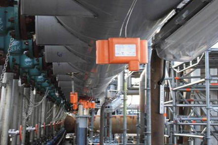 蒸馏装置塔顶连续腐蚀监测